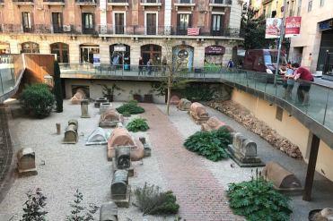 MUHBA Via Sepucral Romana