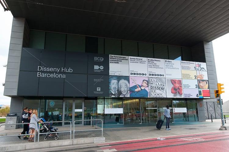 Museu del Disseny de Barcelona entre