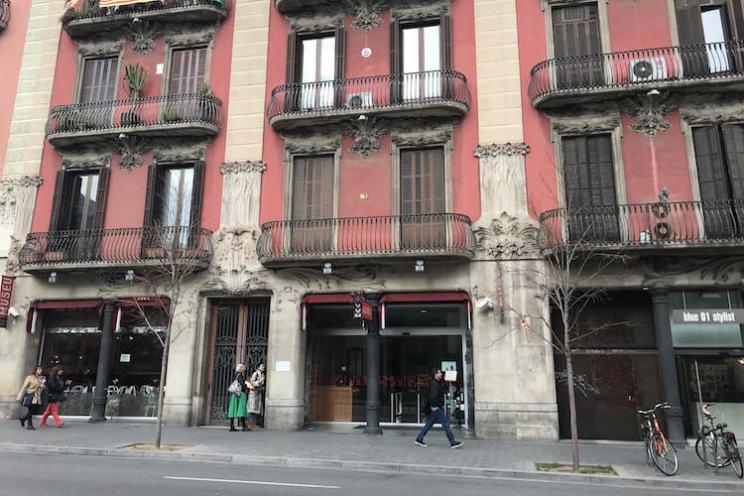 Museum voor Catalaans modernisme in Barcelona, façade