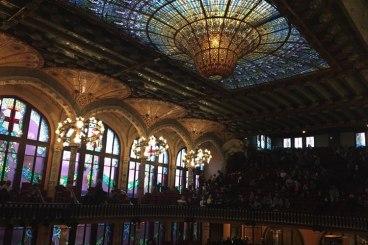 Palau de la Música plafond