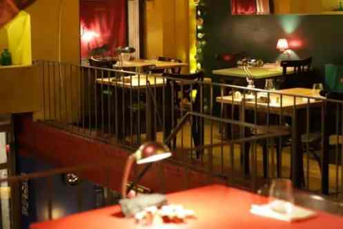 Inrichting Restaurant Pla