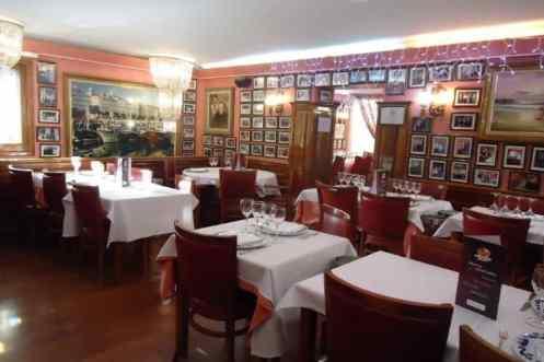 Binnenkant restaurante Salamanca