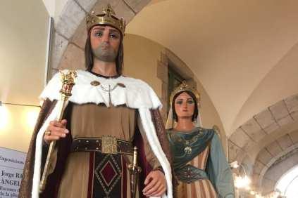 reuzen Barcelona traditie