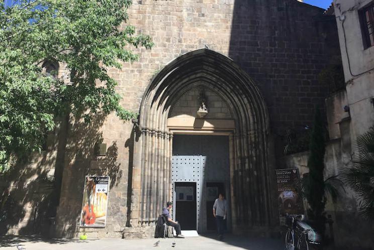 Santa Anna Kerk Gotische wijk Barcelona