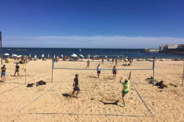 Strand volleybal