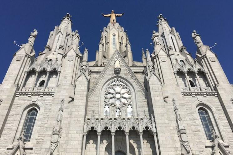 tibidabo kerk sagrado corazón