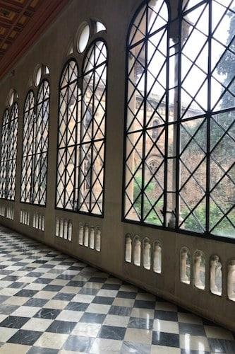 De universiteit van Barcelona van binnen