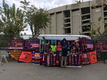 sjaals kopen stadion FC Barcelona