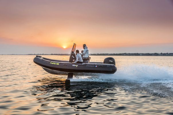 powerboats foil SEAir-Flying-RIB