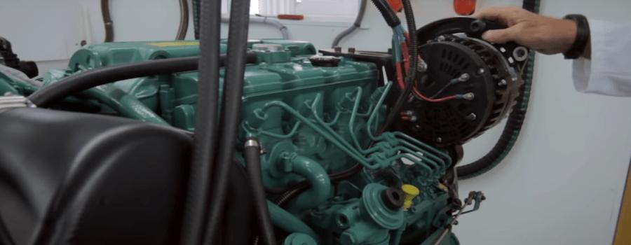 barche a motore generatore