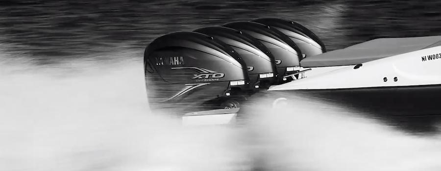 fuoribordo yamaha 375 barca
