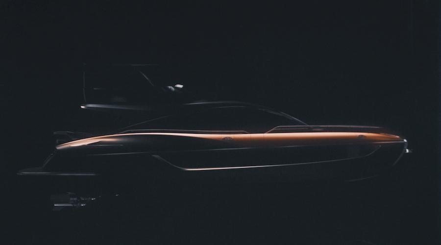 Rendering dello yacht di Lexus - LY 650