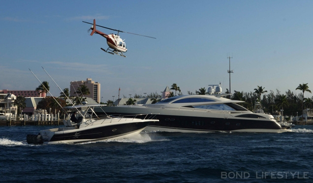Sunseeker yacht bond casino royale