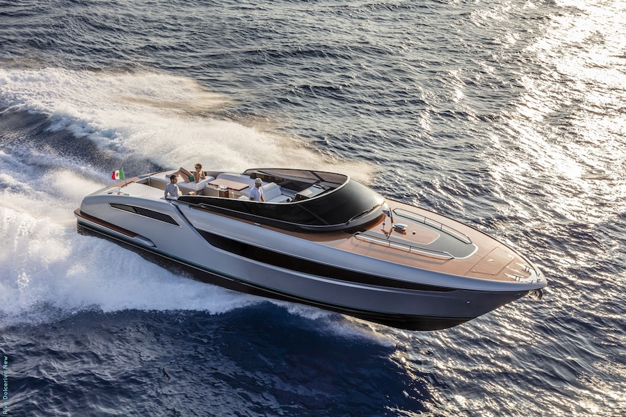 Dolceriva, the Riva's answer to the open boat boom