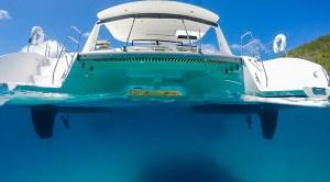 In un catamarano è tutto doppio, anche quando si parla di motore.