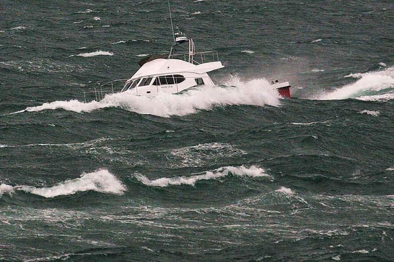 Il catamarano è virtualmente inaffondabile grazie al doppio scafo.