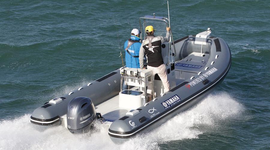 Capelli e yamaha al Pescare Show
