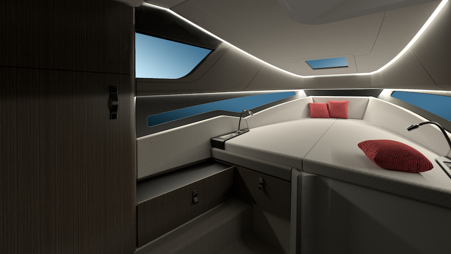 Pyxis Yachts P-30 cabin