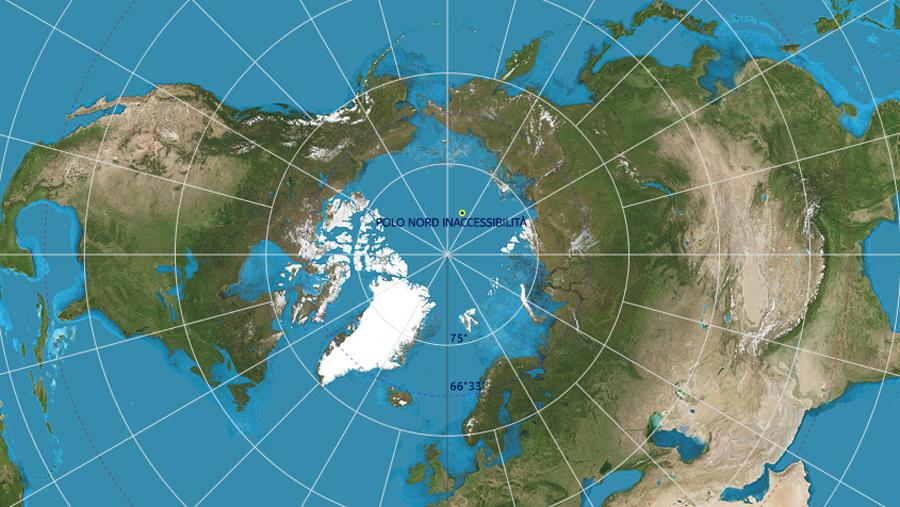 polo nord inaccessibilità