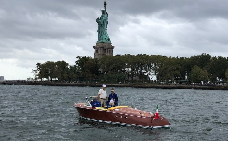 motoscafi Riva - Un Riva Ariston a New York