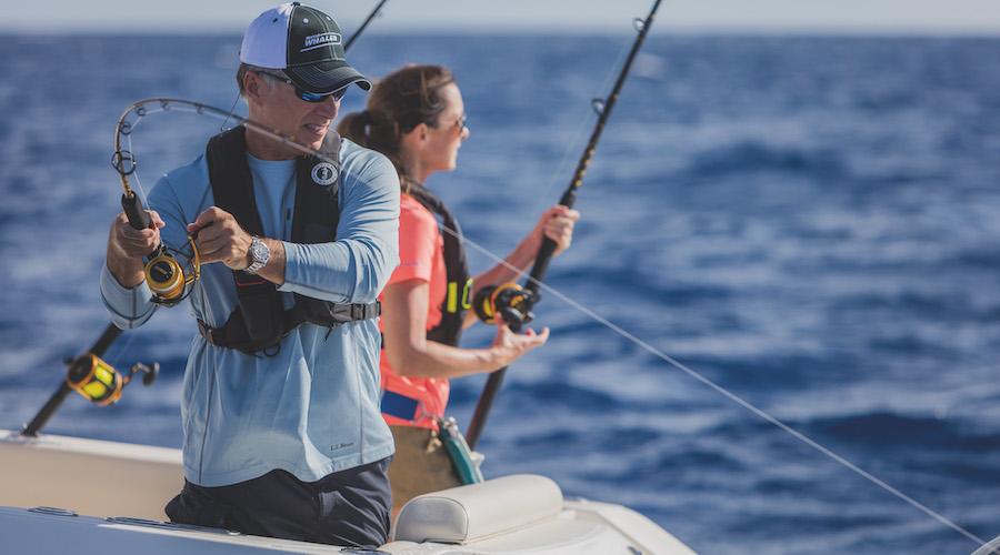 Pescare dalla barca