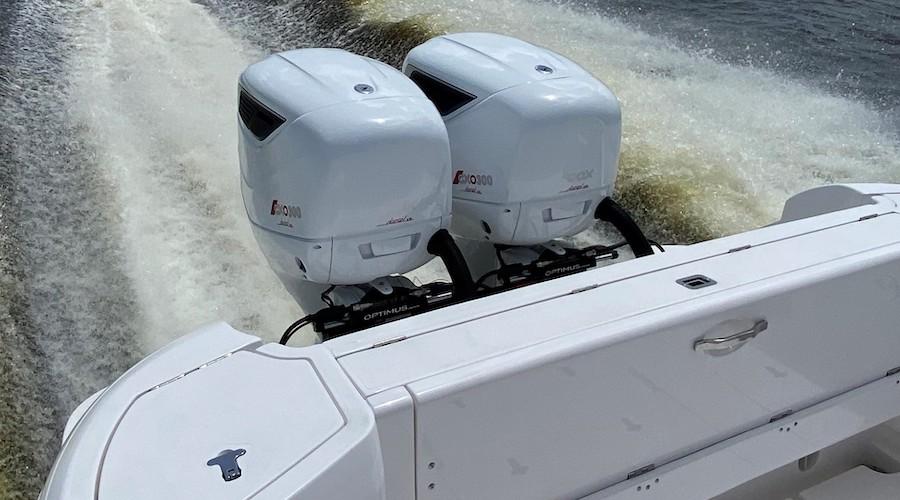 Cox CXO 300 fuoribordo diesel