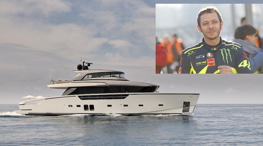 nuovo yacht valentino rossi
