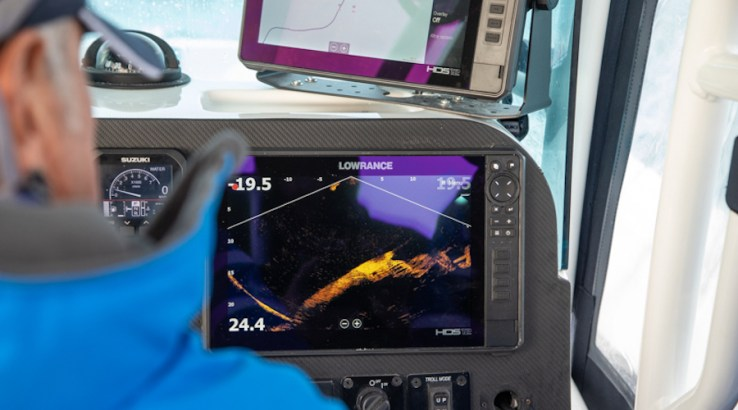 lowrance pesca in mare