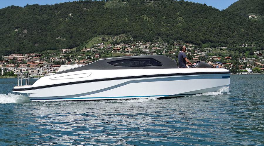 motore marino ibrido - Blue Hybrid System