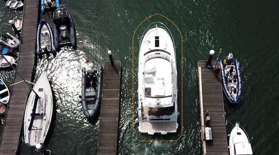 Addio stress in ormeggio! Ecco il sistema d'ormeggio DockSense di Raymarine