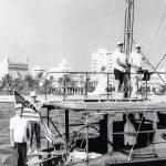 PILAR Hemingway on Pilars flybridge
