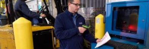 Barcode Scanner in Warehouse-Barcode Southwest