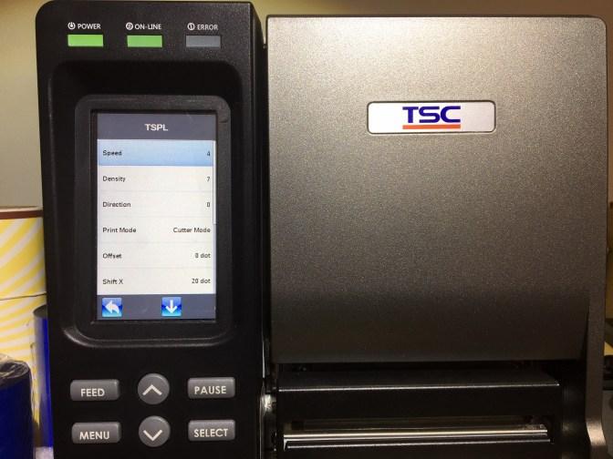 TSC Image Barcode Southwest