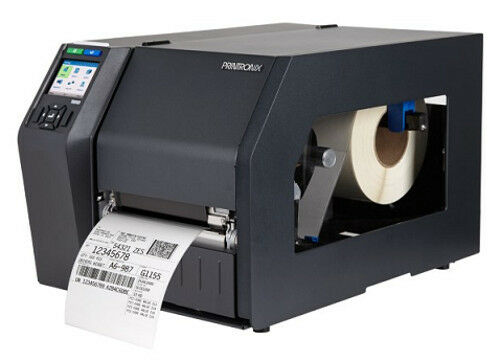 Printronix T8308 media and ribbon installation-Barcode Southwest
