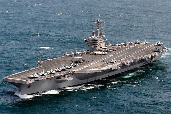 USS NIMITZ CVN-68, el mayor portaaviones americano