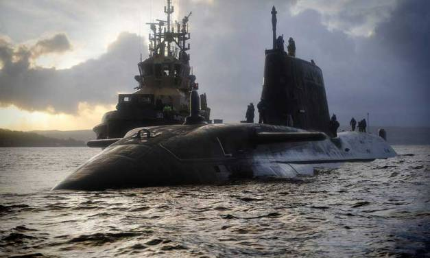 HMS Astute, submarino nuclear británico