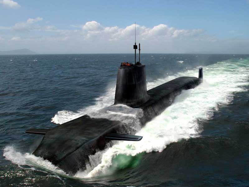 Submarino nuclear, Royal Navy