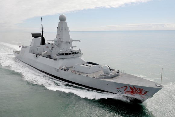 destructores tipo 45 de la Royal Navy