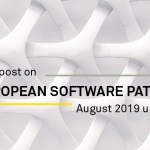 European software patents August 2019 updates