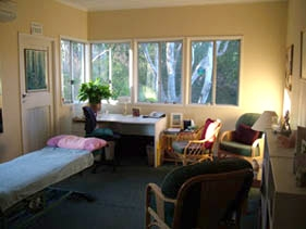 Our Osteopath room