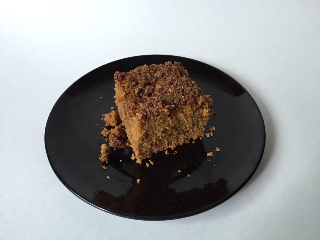 Pumpkin Caramel Coffee Cake (GF)
