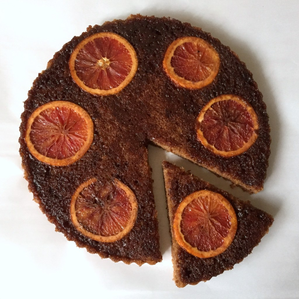 Blood orange olive oil cake 4