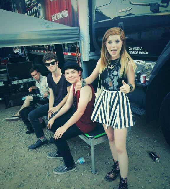 Vans Warped Tour Exclusive with Echosmith