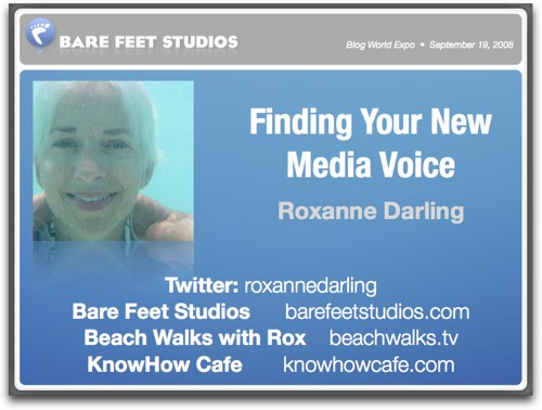 Finding Your New Media Voice