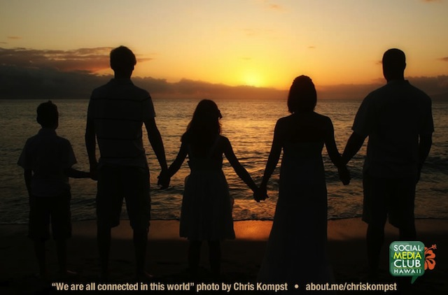 We are all connected by Chris Kompst