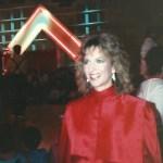 Rox (aka Annie) Head Judge at the First Crystal Light Aerobics Championship on ESPN