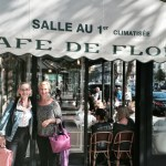 lunch at the cafe de flore