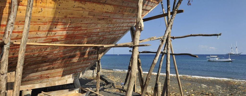 Sumbawa Phinisi boat