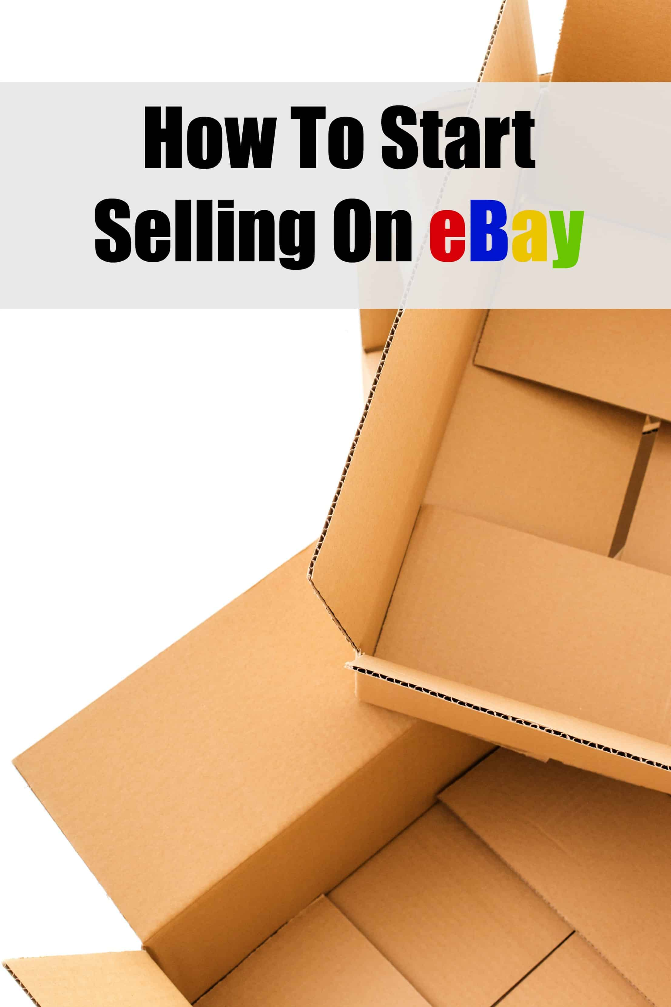 How to start selling on ebay barefoot budgeting for How to make money selling ideas