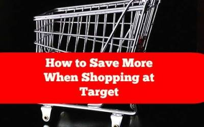 Save More When Shopping at Target